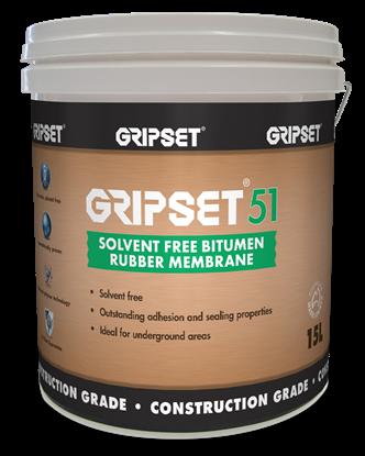 Picture of GRIPSET 51 (15L PAIL) BITUMEN