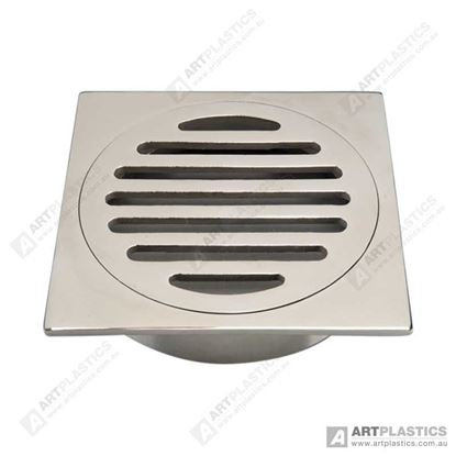 Picture of GRATE SQUARE STAINLESS STEEL (SLOTTED 80MM)