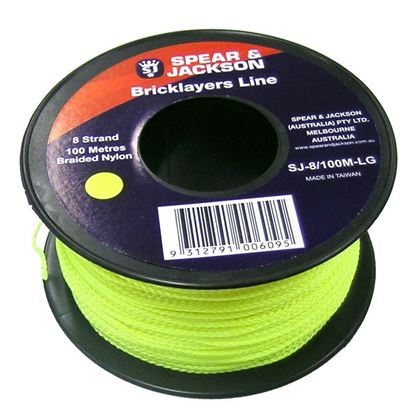 Picture of STRING LINE (12 STRAND FLURO GREEN)