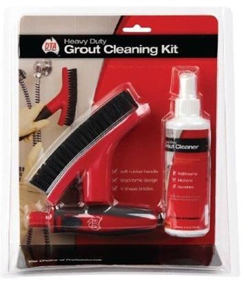 Picture of GROUT BRUSH WITH HANDLE & GROUT CLEANER
